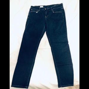 Dark Wash Gap 1969 Legging Jeans size 12A.